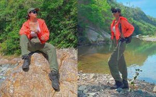 Bỏ Sài Gòn đi trekking 2 ngày 1 đêm, 'ác nữ' Bella Mai chia sẻ: 'Thú vị không nói nên lời'