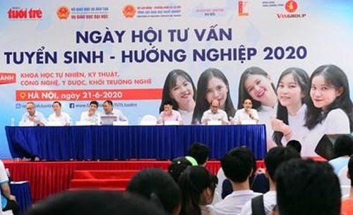 Khoảng 10.000 học sinh tham gia Ngày hội Tư vấn tuyển sinh-Hướng nghiệp 2020