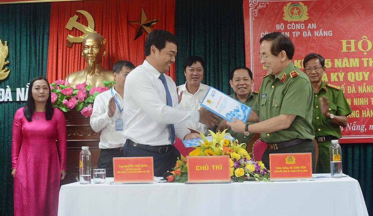 Đảm bảo tuyệt đối an ninh, an toàn tại cửa ngõ hàng không quốc tế Đà Nẵng
