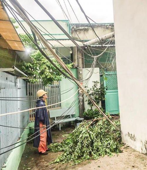 Chủ động khắc phục các sự cố điện trong mùa mưa bão