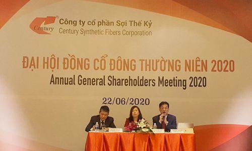 ĐHCĐ Sợi Thế kỷ (STK): Nếu không có Covid, năm 2020, STK có thể lãi 230 tỷ đồng