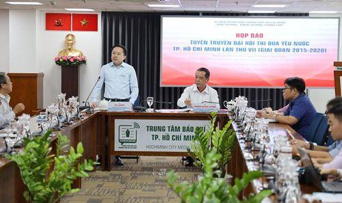 Hơn 1.200 đại biểu tham dự Đại hội Thi đua yêu nước TPHCM lần thứ VII