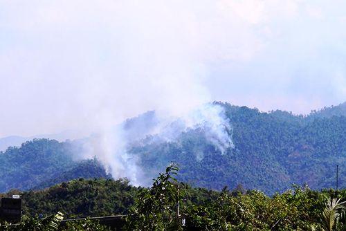 Khánh Vĩnh: Tập trung phòng, chống cháy rừng