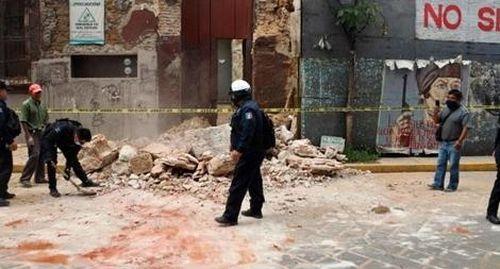 Động đất mạnh tấn công bệnh viện COVID-19 ở Mexico