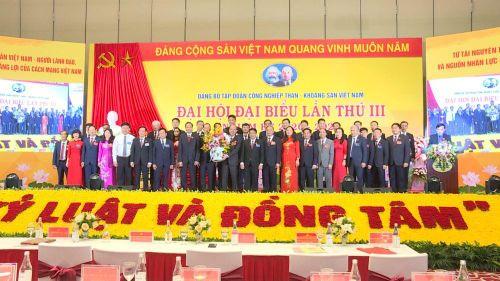 Đại hội Đại biểu Đảng bộ Tập đoàn Công nghiệp Than – Khoáng sản Việt Nam lần thứ III