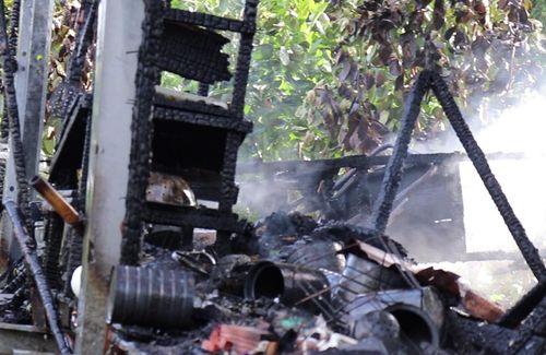 Cô gái tử vong trong căn nhà bị cháy