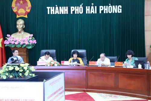 Thứ trưởng Đặng Hoàng Oanh: Hải Phòng quan tâm, bổ sung ngân sách để thực hiện tốt hơn xử lý vi phạm hành chính