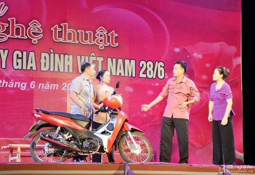 Ấn tượng Chương trình nghệ thuật chào mừng ngày Gia đình Việt Nam