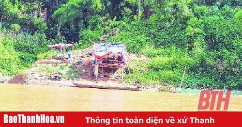 Thủy điện Trung Sơn kiểm tra thực địa dòng chảy thoát lũ hạ lưu đập
