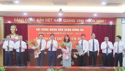 Ông Đặng Việt Quân giữ chức Chủ tịch UBND quận Đống Đa