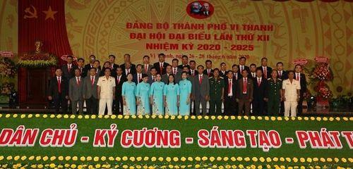 Đại hội Đảng bộ thành phố Vị Thanh