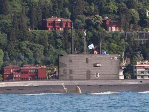 Mỹ lo ngại khi tàu ngầm Nga xuất hiện ở Đông Địa Trung Hải