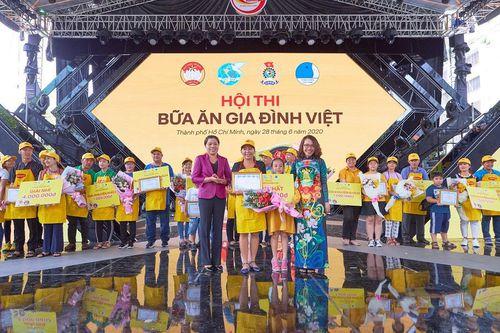Sôi động Hội thi 'Bữa ăn gia đình Việt' tại TP.HCM