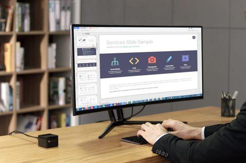 Xuất hiện mini PC Trung Quốc nằm gọn trong lòng bàn tay, hỗ trợ xuất hình 4K