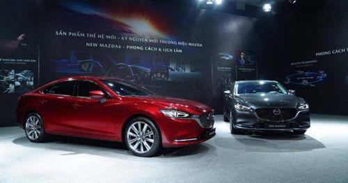 New Mazda6 bản cao cấp nhất có giá 1,049 tỷ đồng