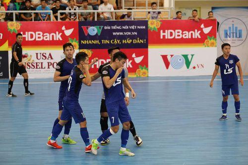 Futsal HDBank VĐQG: Thái Sơn Nam thắng trận 'siêu kịch tính'