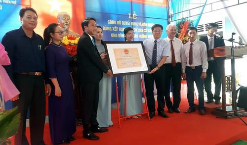 Châu Hương viên được công nhận xếp hạng Di tích lịch sử