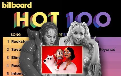 Kết quả BXH Billboard tuần này: Rockstar 'xưng vương' trở lại trên No.1, TROLLZ xác lập cú... trượt dài nhất lịch sử