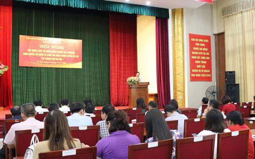 Gần 300 đại biểu được tập huấn về thí điểm tổ chức mô hình chính quyền đô thị