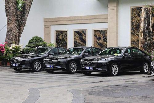 VinFast Lux A 2.0 đặc biệt phục vụ lãnh đạo cao cấp ASEAN