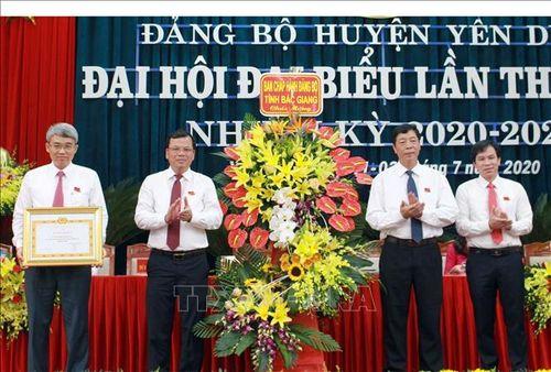 Huyện Yên Dũng (Bắc Giang) sử dụng hiệu quả các nguồn lực, phát triển nhanh, toàn diện, vững chắc