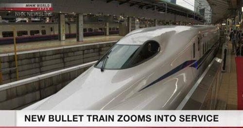 Nhật Bản đưa tàu Shinkansen kiểu mới vào hoạt động