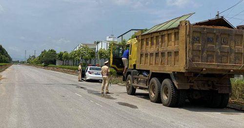 Phú Thọ: Vắng bóng xe quá tải sau chỉ đạo 'nóng'