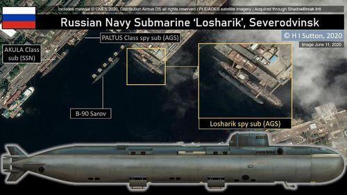 Tai nạn tàu ngầm tuyệt mật Losharik vẫn là một vấn đề đối với hải quân Nga