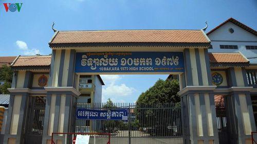 Campuchia sẽ mở lại trường học vào tháng 8 tới