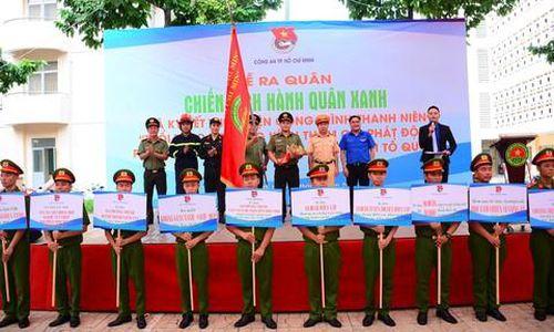 Ra quân chiến dịch tình nguyện Hành quân xanh