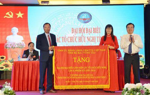 Bà Đỗ Thị Như Mai tiếp tục được tín nhiệm bầu làm Chủ tịch Liên hiệp Các tổ chức hữu nghị tỉnh Bà Rịa - Vũng Tàu