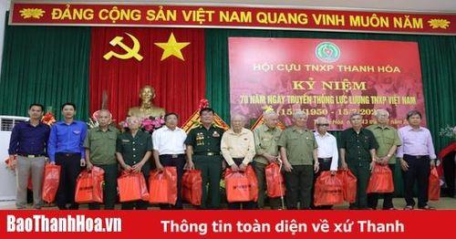 Cựu TNXP Thanh Hóa tiếp tục phát huy truyền thống bộ đội cụ Hồ