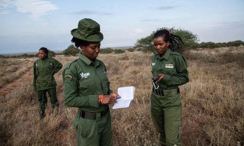 Những nữ chiến binh bảo vệ sư tử ở Kenya