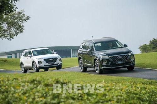 TC MOTOR tăng 2 năm bảo hành cho các dòng xe SUV Hyundai