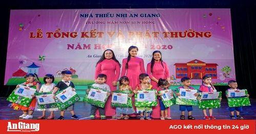 Trường Mầm non Sen Hồng tổng kết năm học 2019- 2020