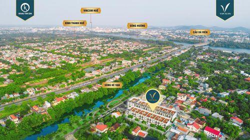 Bất động sản Huế: Khải Tín DN ra mắt tuyến phố ven sông phía tây bắc kinh thành Huế