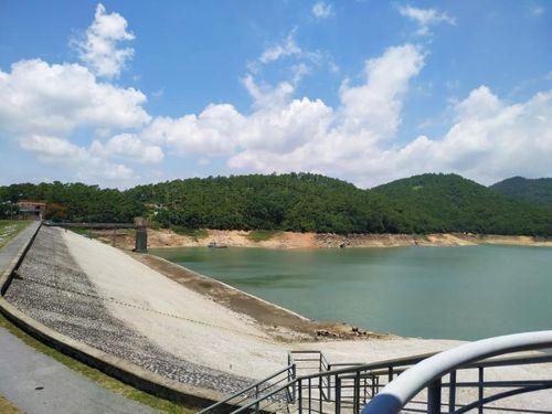 Hồ Yên Lập, Quảng Ninh sắp đến mực nước chết