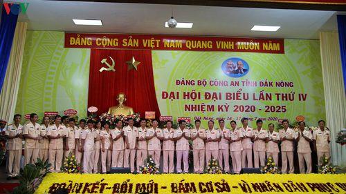Đại tá Hồ Văn Mười giữ chức Bí thư Đảng ủy Công an tỉnh Đắk Nông