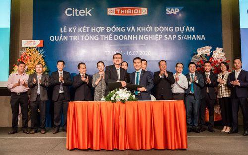 CITEK và THIBIDI ký kết hợp đồng chuyển đổi số với giải pháp quản trị tổng thể doanh nghiệp (SAP S/4HANA)