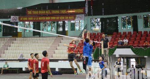 Giải vô địch Bóng chuyền nam tỉnh Bắc Giang năm 2020