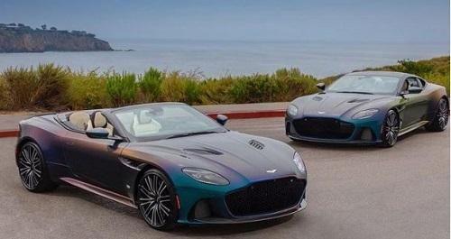 Cặp đôi siêu xe Aston Martin DBS Superleggera độc đáo với màu sơn có thể thay đổi theo góc nhìn