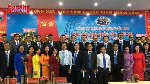 Đồng chí Nguyễn Thanh Phương tái đắc cử Bí thư Đảng ủy Trường Đại học Cần Thơ nhiệm kỳ 2020-2025