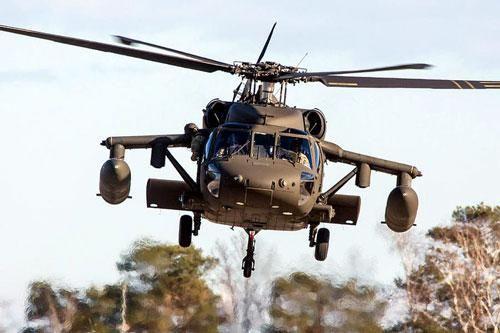 'Diều hâu đen' của Mỹ được Jordan chọn làm trực thăng Hoàng gia