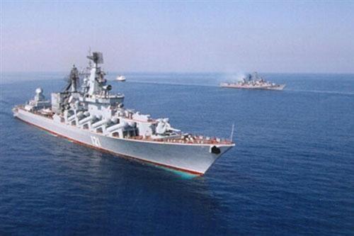 Tuần dương hạm Moskva phục vụ Hải quân Nga lâu kỷ lục