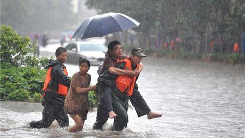 Mưa lũ ở miền Nam Trung Quốc sẽ suy giảm trong thời gian tới
