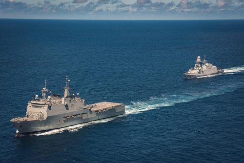 Hàn Quốc, Nhật Bản tham gia diễn tập chống cướp biển ngoài khơi