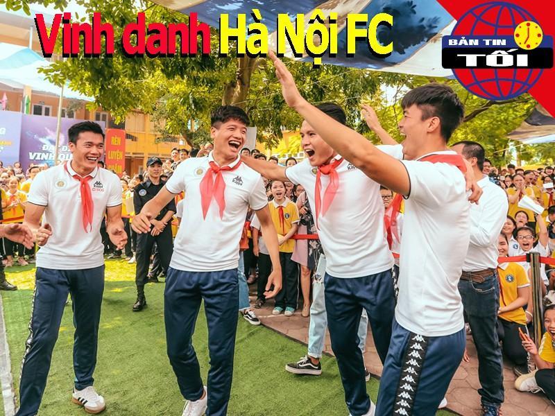 Hà Nội FC được vinh danh; Bóng đá Hàn Quốc mở cửa đón CĐV