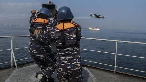 Biển Đông căng thẳng, Indonesia tiến hành tập trận quy mô lớn