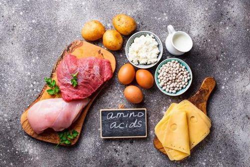 Axit amin và ứng dụng trong dinh dưỡng điều trị