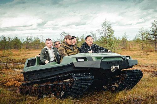 Tinger C500, xe địa hình như 'tăng mini' đến từ nước Nga